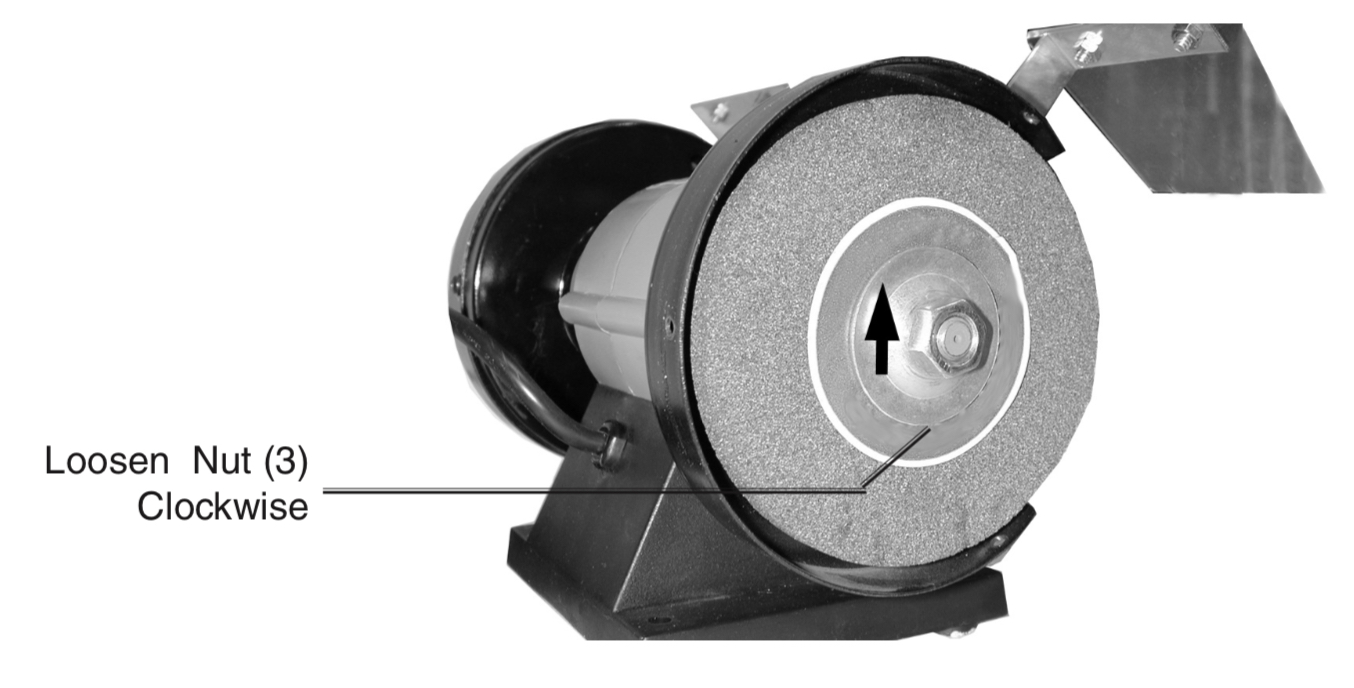 Pictures On Changing Bench Grinder Wheel Faq
